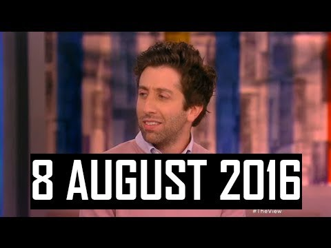 The View | 8 August 2016 | Simon Helberg and Alessia Cara As Guests