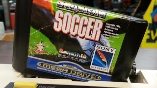 Classic Game Room - SENSIBLE SOCCER review for Sega Mega Drive