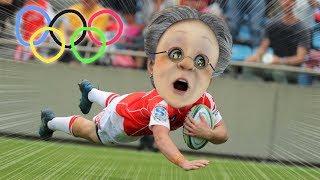 バーチャルおばあちゃんのラグビーワールドカップ高齢者日本代表戦【東京2020オリンピック】