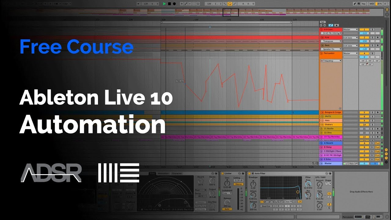 Ableton Live 10 Automation