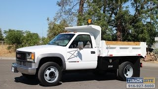 2001 GMC 3500HD 3.5 Yard Dump Truck for sale by Truck Site