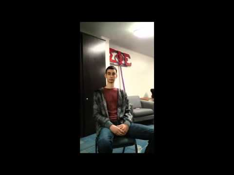Interview with an Arabic student about UT and business