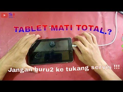 Tablet Advan Vandroid E1C+ atau yang biasa disebut tab advan saja tiba-tiba mati total alias matot p.