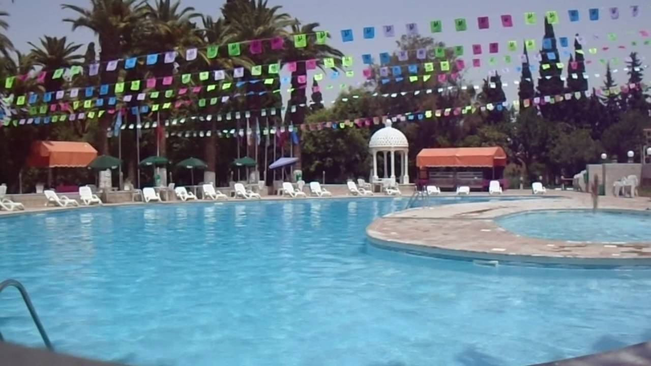 Ouverture piscine hotel les zianides andalus for Ouverture piscine