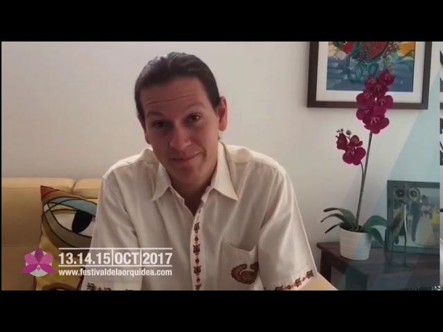 Ronaldo Vaca Pereira te Invita al Festival de la Orquídea