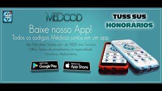 MEDcod TUSS SUS CID Valor Honorários - Um NOVO app que junta todas as tabelas e códigos médicos!