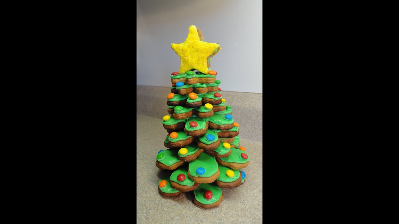 3 d cookie christmas tree youtube