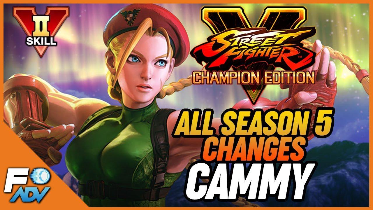 Cammy Sfv Season 5 Changes Vskill 2 Breakdown Street Fighter V