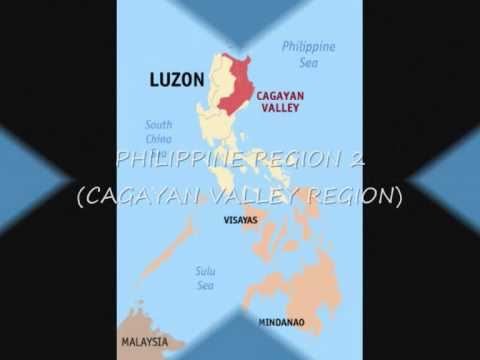 Cagayan Philippines Map.Philippines Region 2 Cagayan Valley Youtube