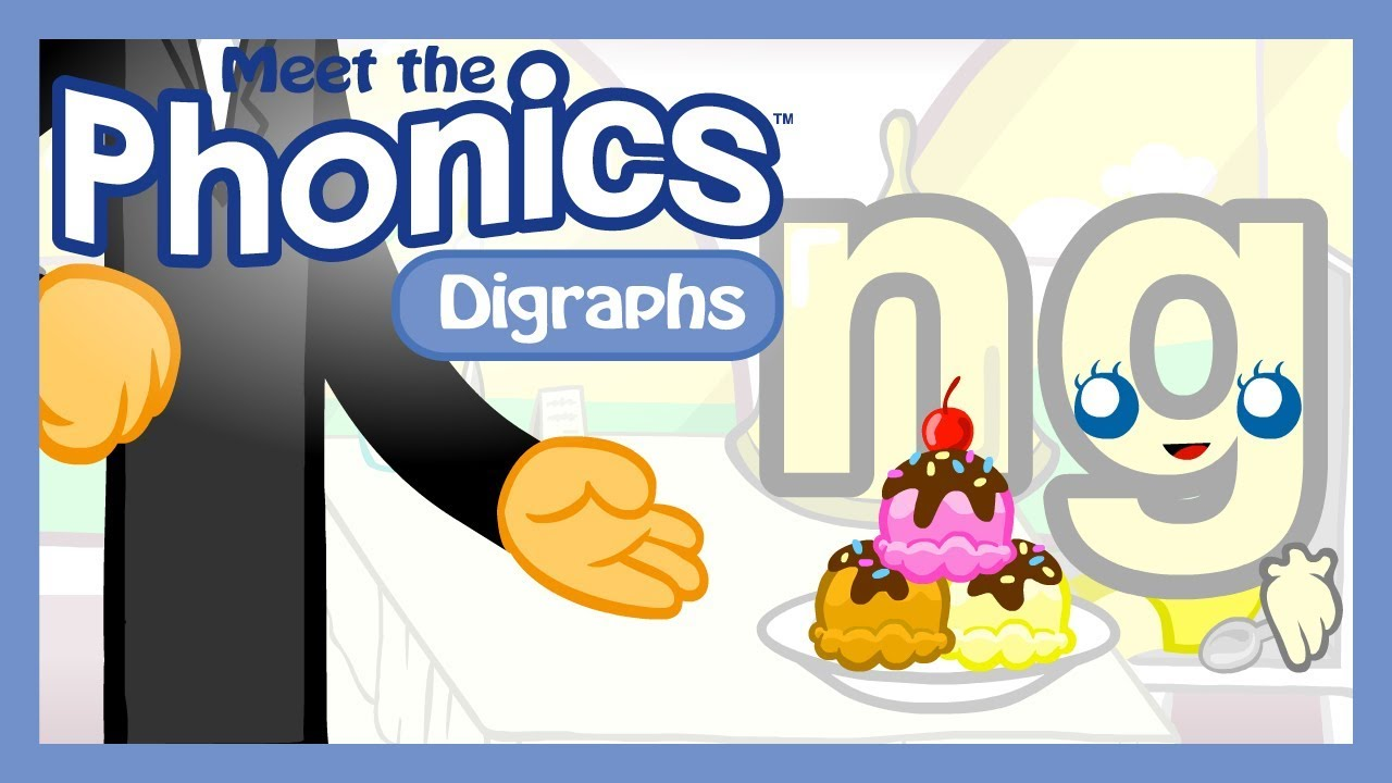 Meet the Phonics Digraphs - ng - YouTube