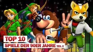 TOP10: Unsere liebsten Games der 90er! Teil 2 🎮 #NerdRanking