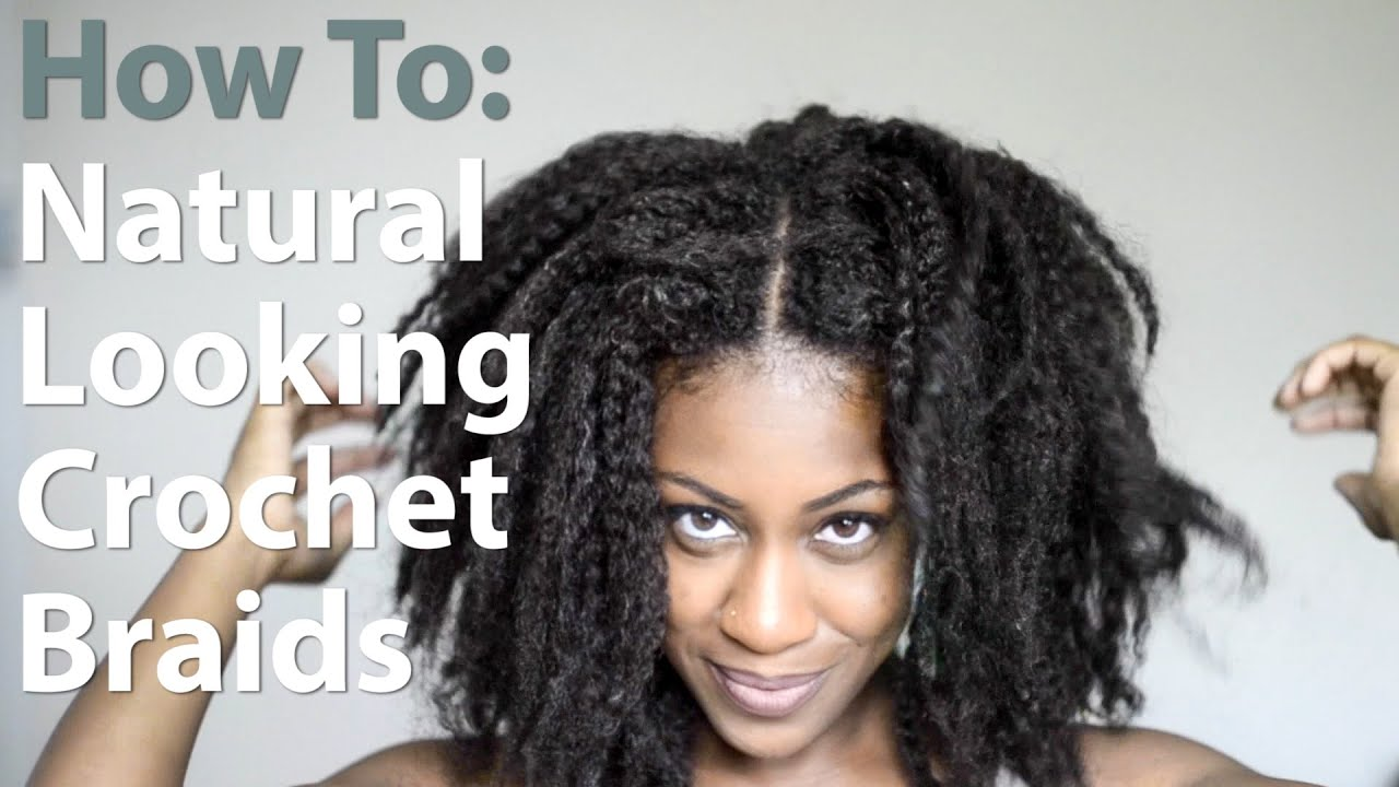 Crochet Hair Versatile : How I Install My Natural Looking Versatile Crochet Braids - YouTube