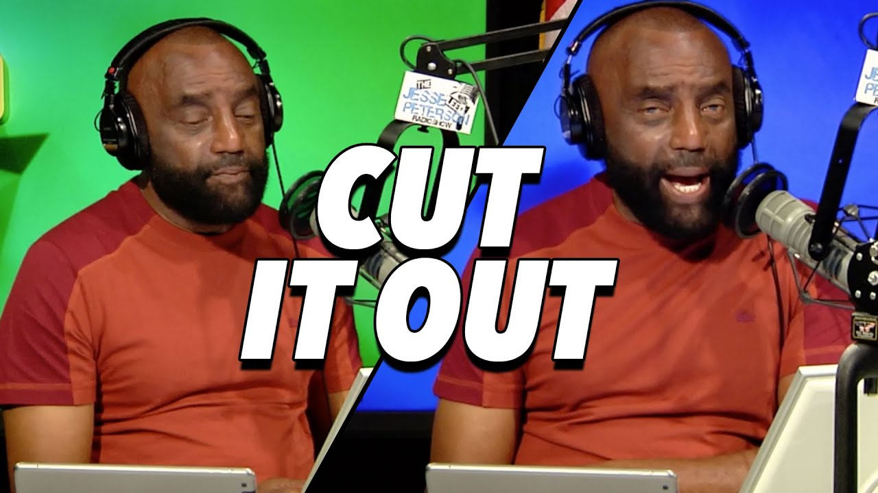 Jesse Lee Peterson SNAP OUT OF IT - Dramatic Mother and Jesse Catch Up