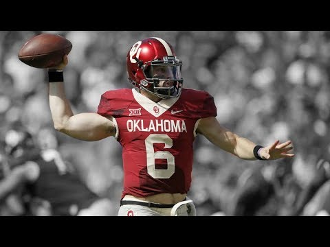 Baker Mayfield || 2017-2018 Oklahoma Highlights ᴴᴰ