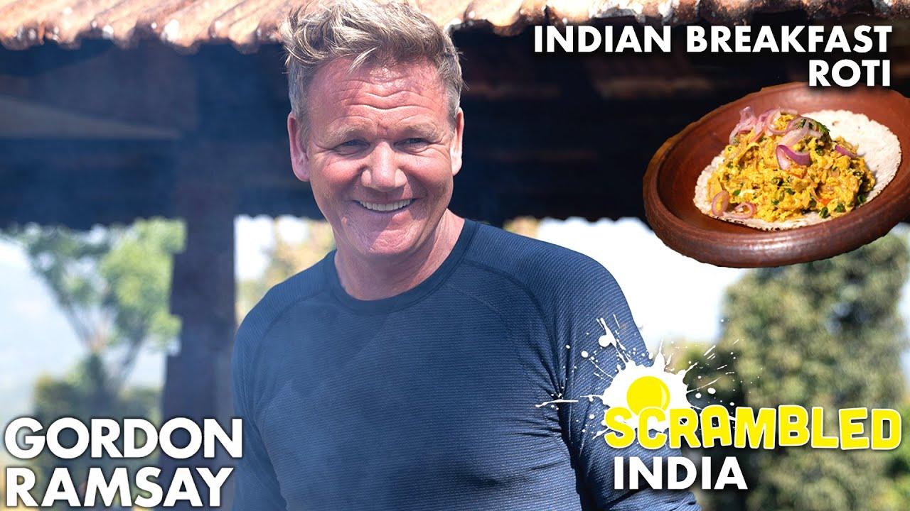 Gordon Ramsay Cooks The Spiciest Scrambled Eggs in India | Scrambled
