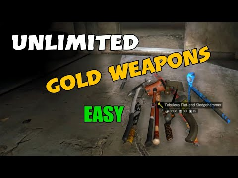 Dying Light -  Unlimited Gold Weapons Easy