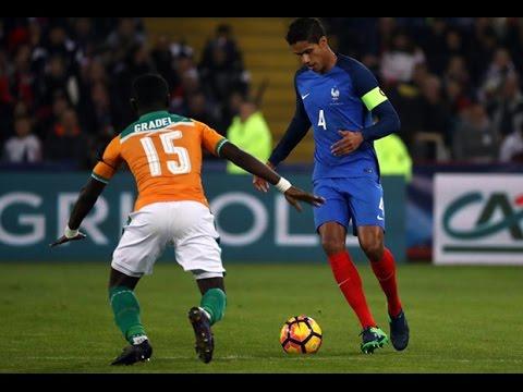 France - Côte d'Ivoire 2016 : 0-0