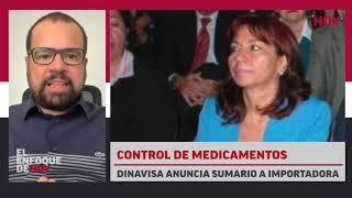 Control de medicamentos: DINAVISA anuncia sumario a importadora