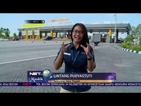 Menjajal Fasilitas Tol Baru Bawen Salatiga - NET5