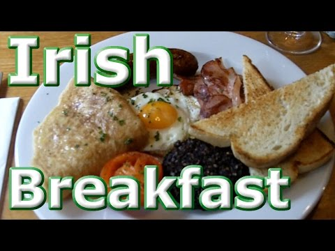 Full Irish Breakfast in Dublin