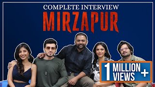 The Complete Interview with Team Mirzapur by RJ Harshit