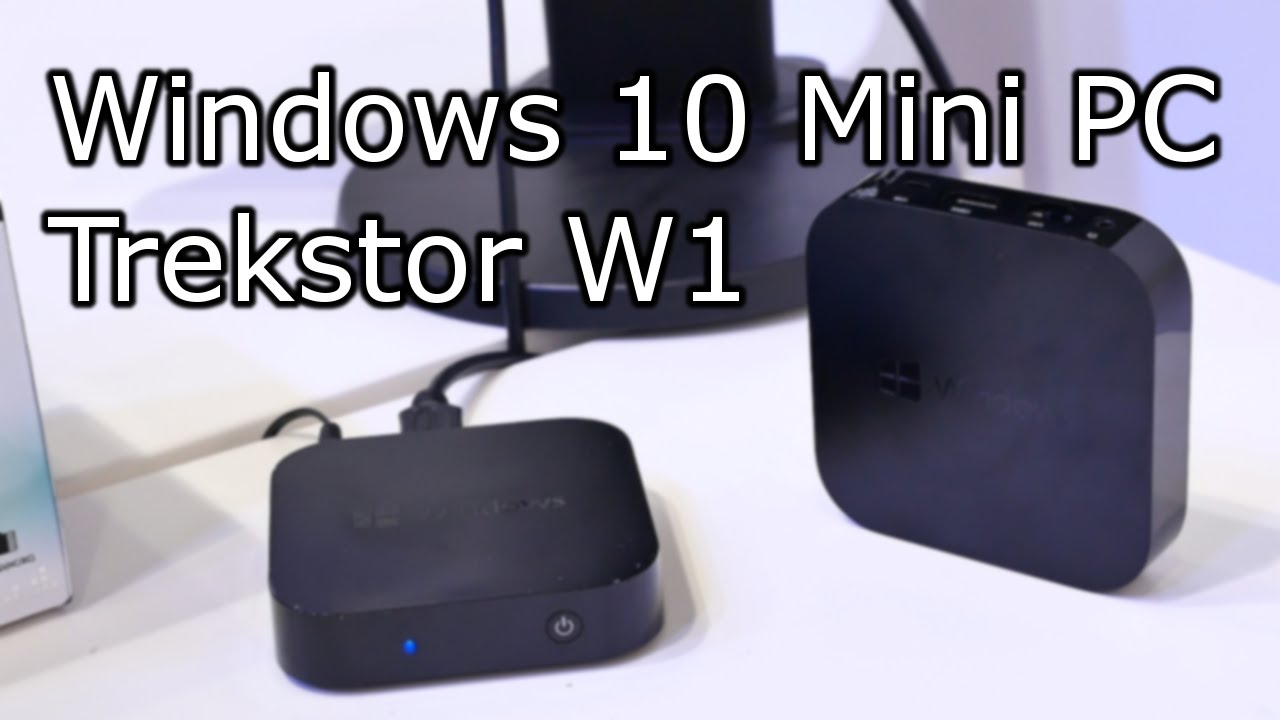 trekstor w1 full windows 10 mini pc hands on. Black Bedroom Furniture Sets. Home Design Ideas