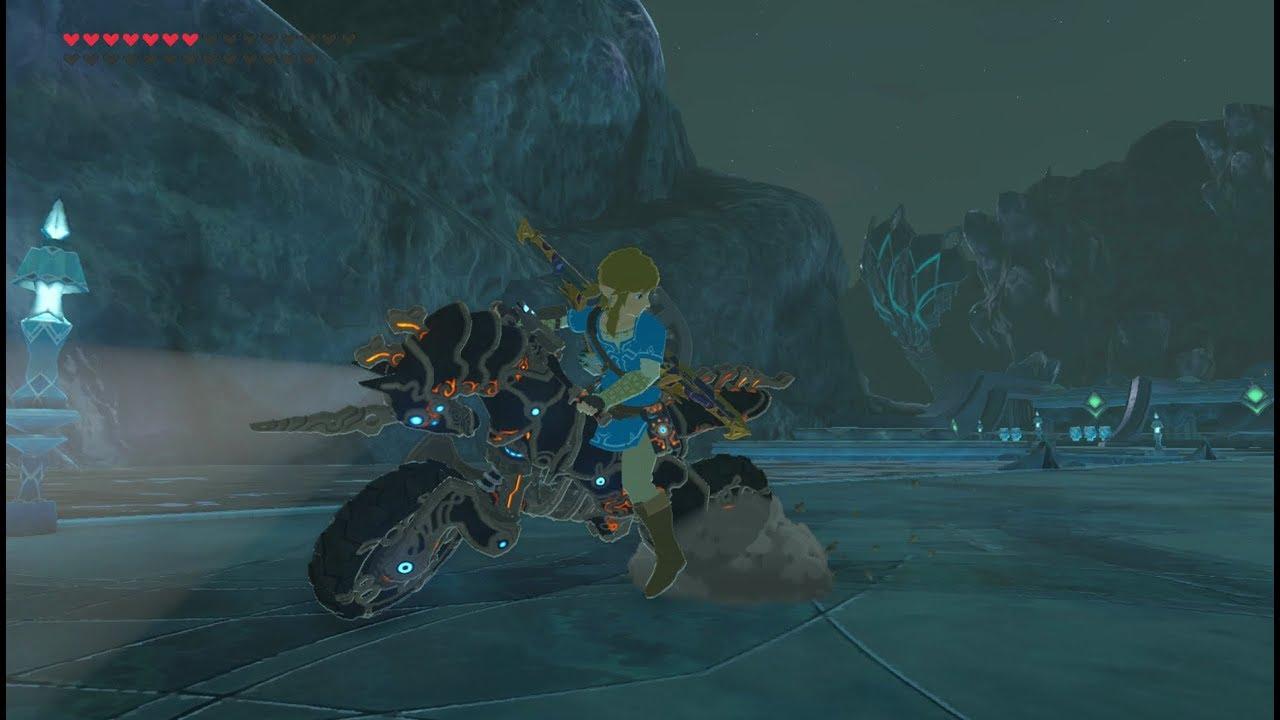 Zelda Breath Of The Wild Master Cycle: Zelda: Breath Of The Wild DLC