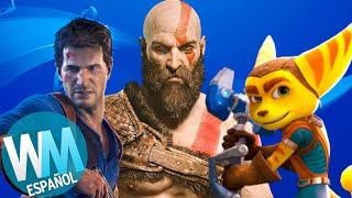 ¡Top 10 Juegos EXCLUSIVOS del PS4!