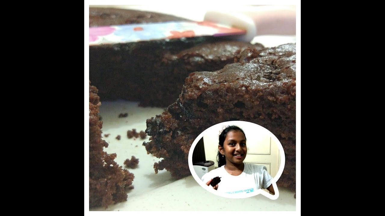 Eggless Milkmaid Chocolate Cake
