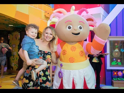 The launch of the UK's first CBeebies Land Hotel at Alton Towers Resort