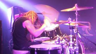 Sleepwave - Rock And Roll Is Dead And So Am I [Jesse Shelley] Drum Video Live [HD]