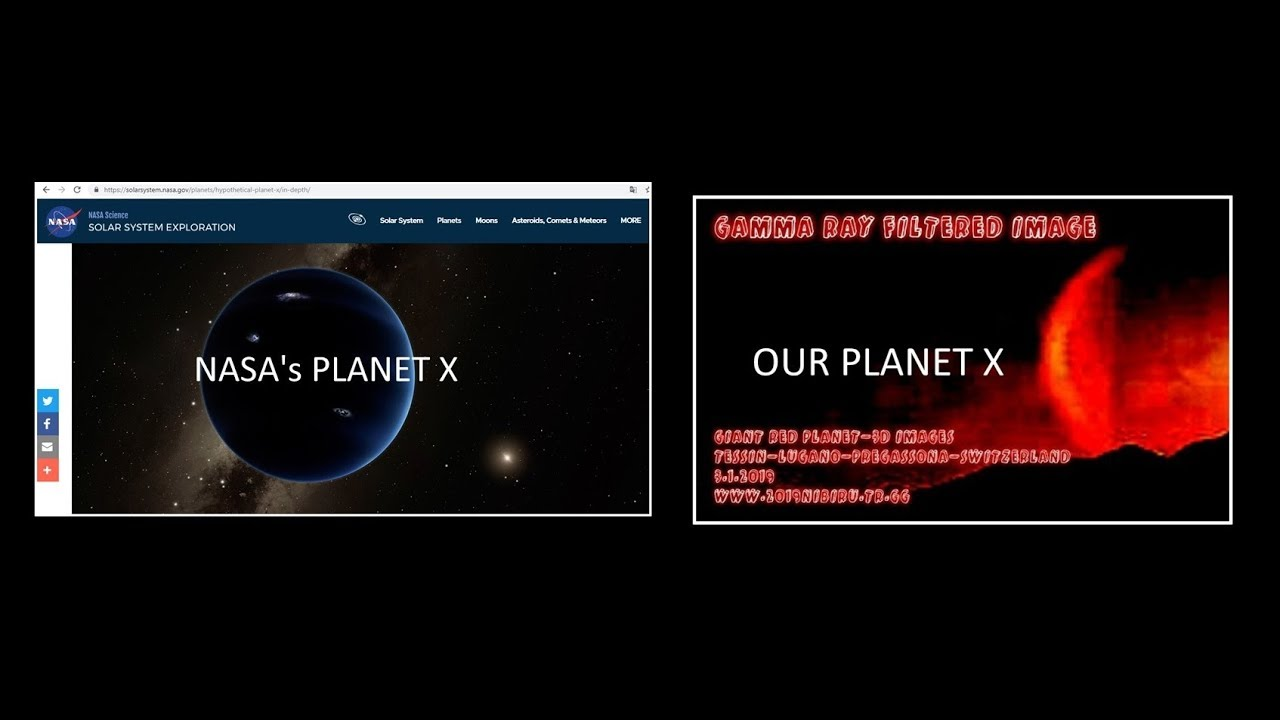 *NASA and PLANET X-2019*NASA: We couldn't find this planet ...