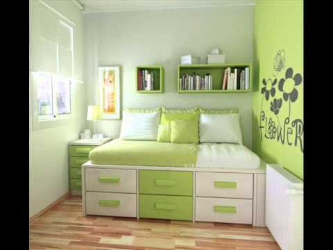 Teenage girls modern bedroom ideas - YouTube on Girls Bedroom Ideas For Very Small Rooms  id=47655