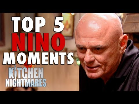 TOP 5 NINO MOMENTS | Kitchen Nightmares