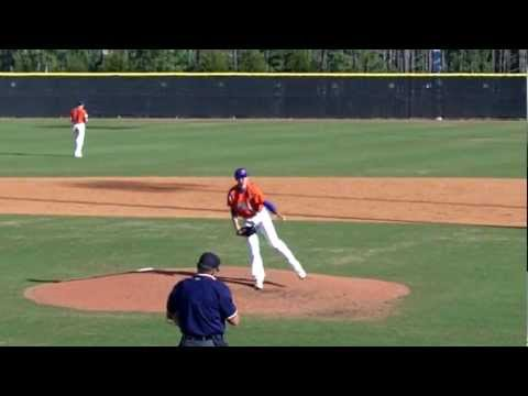 Jordan Kelly Pitching - NHSI Cary NC 03.2012