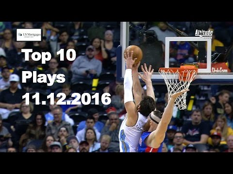 Top 10 NBA Plays: November 12th