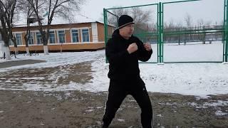 Уроки бокса 9. Ответная атака после защиты.