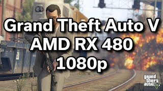 GTA V - i5-6402p - RX 480 - $720 Gaming Computer - Benchmark