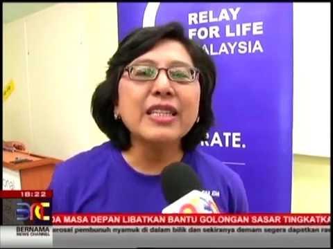 Relay For Life Kuala Lumpur 2016 (Media Launch), Eng, Bernama TV