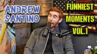 Download lagu Andrew Santino | Funniest Podcast Moments Vol.1 (Fighter And The Kid, This Past Weekend)
