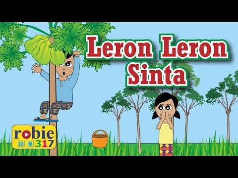 Leron Leron Sinta Animated (Filipino / Tagalog Folk Song) | Awiting Pambata