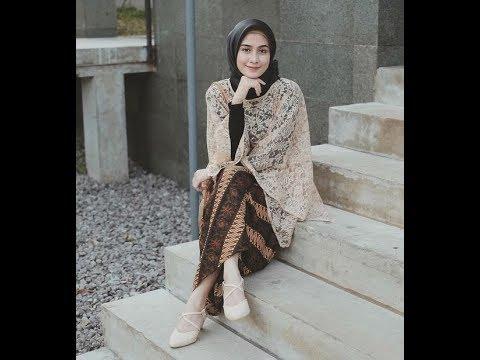 Inspirasi Model Baju Kebaya Muslim Terbaru 2018 2019 Trendy Modern