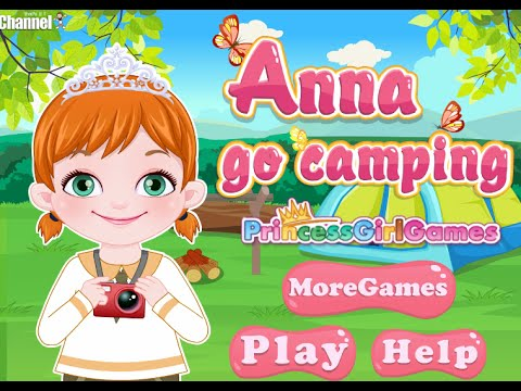 Baby Anna go camping Online Free Flash Game Videos GAMEPLAY