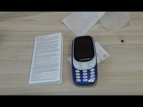 Vkworld Z3310 (Nokia 3310-2017) - Обзор