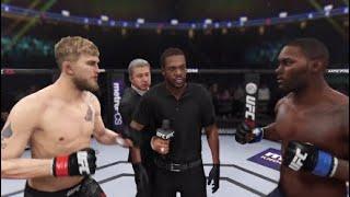 EA SPORTS UFC  3  Alexander Gustafsson vs Anthony Johnson Full Fight