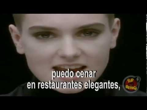 Sinéad O'Connor -- nothing compares to you subtitulada al español TOP RETRO