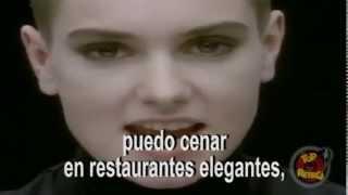 Sinéad O'Connor -- nothing compares to you subtitulada al español TOP RETRO
