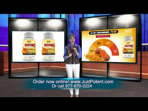 Just Potent Ultra-High Absorption Turmeric Curcumin