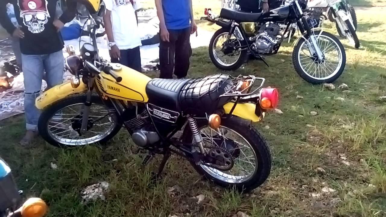 Yamaha Dt Indonesia 1st Anniversary Of Jogja Vintage Trail Club