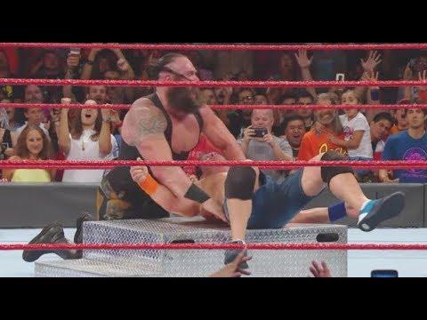 WWE RAW 9/11/17 Review - JOHN CENA VS BRAUN STROWMAN